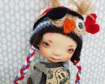 Pirate Owl Hat