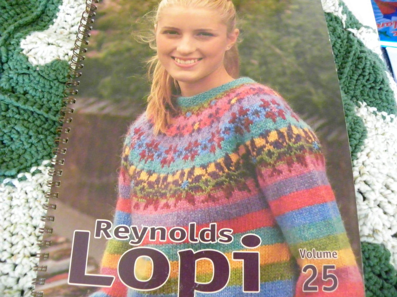 Knitting Pattern Book - Reynolds Lopi Volume 25 - 24 Designs ...