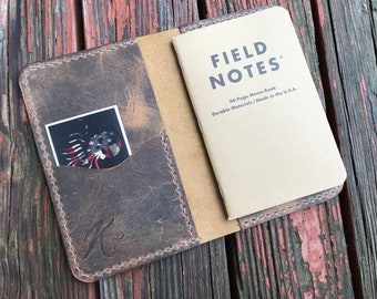 Leather Journal  Cover - Oil Tanned