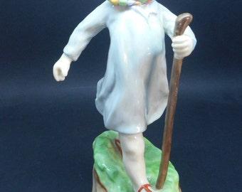 Royal Worcester Figure Thursdays Child 3260