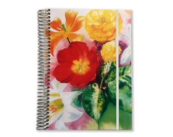 2018 Planner | 2017-2018 Planner | Aquila Watercolor | Daily Schedule Planner | Day Organizer