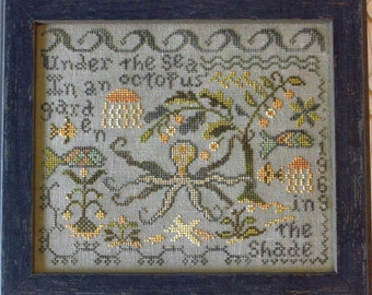 Octopus's Garden by Blackbird Designs Counted Cross Stitch Pattern/Chart