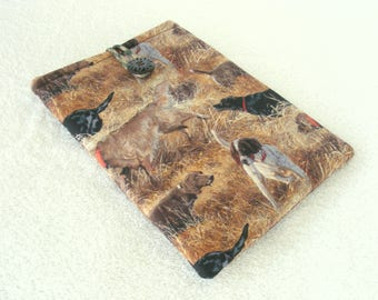 """Hunting Dogs, IPad Mini Case, Kindle Fire Case, IPad Mini Cover, Kindle Fire HDX Cover, Nook HD Cover, Small Tablet Cover, 8 1/4"""" x 5 3/4"""""""