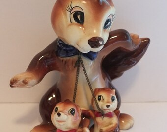 Lipper & Mann Creations Squirrel Chained Figurines Squirrel Family Figurines