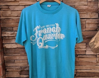 Vintage New Orleans French Quarter t-shirt