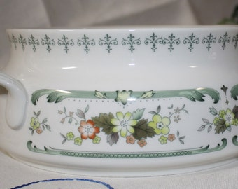 "Round Handled Casserole Dish, Royal Doulton ""Provencal"" China, NO LID, Excellent Condition"