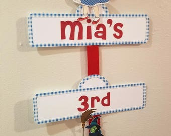 Wizard of Oz Party Sign
