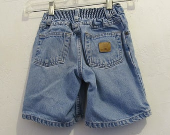 Boy's Vintage 90's,Faded Blue HIP HOP era Jean Shorts By Faded Glory.3