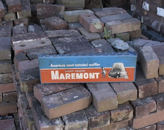 Maremont Muffler Store Display Vintage Advertising