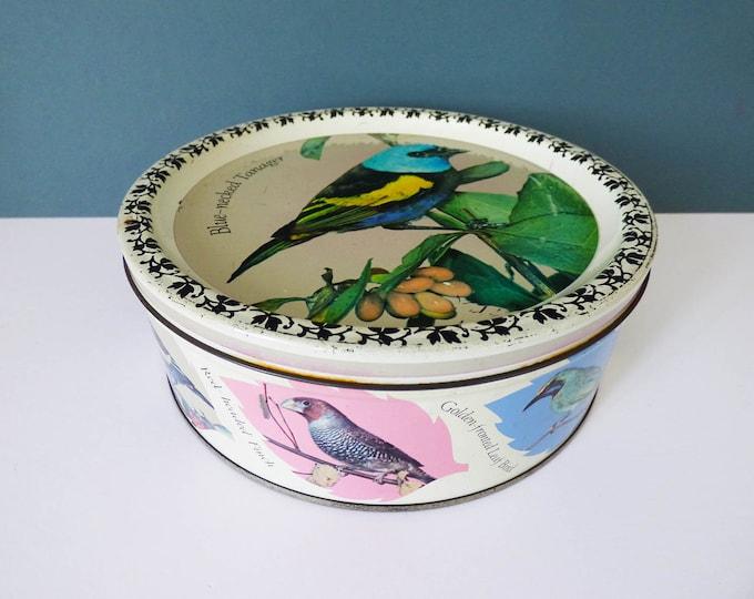 Vintage Bird Tin Quality Street