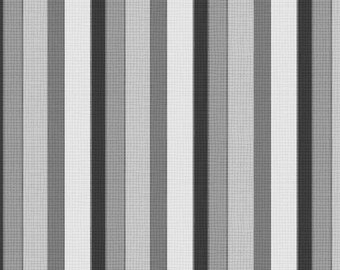 By The HALF YARD - Purple Haze by Daphne B. for Wilmington Prints, Pattern #44070-919 Tonal Gray and Black Crosshatch Stripes