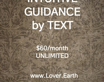 Intuitive Guidance & Divination by Text