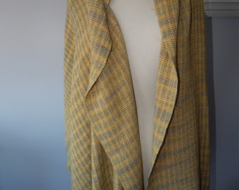 Hand Woven Rayon/Cotton Fabric