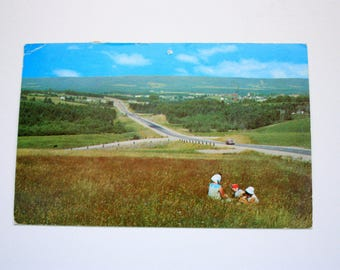 Antigonish, Nova Scotia Postcard 1973 / Antigonish Postcard / Sugar Loaf Mountain / Cape Breton Postcard