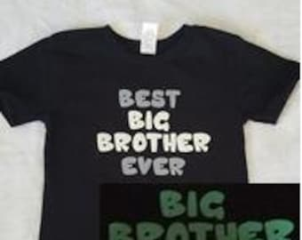 Customizable Big Brother/Big Sister Shirt