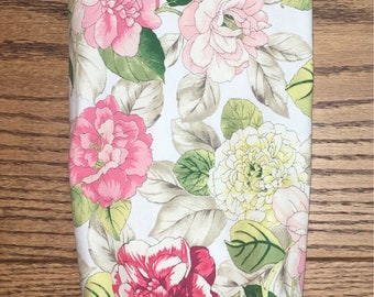 Springy Floral Print Grocery Bag Holder- Plastic Bag Holder-