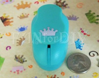 9x15mm medium size lever type paper punch -- crown