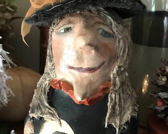 Kentucky Derby fancy hat witch