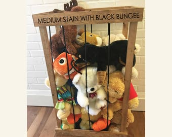 Stuffed Animal Zoo Storage Cage