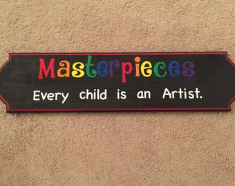 Masterpieces every child is an artist