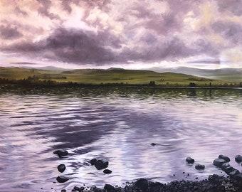 Loch Awe Original Landscape Oil Painting