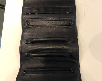 GUCCI Leather soft Jewelry case