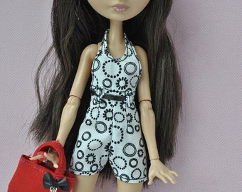 Handmade overalls and bag for Ever After High dolls