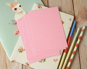 Pastel Pink postcard blanks