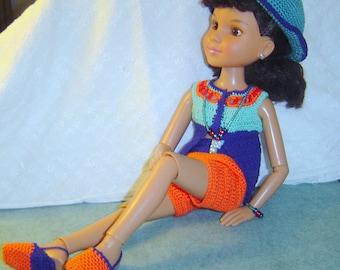 0077 Slim 18Inch Doll Pattern 10PC Butterflies R Free/ Similar Dolls by CarussDesignZ