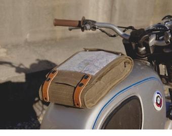 Wheelborne Map Pocketed Magnetic Tank Bag