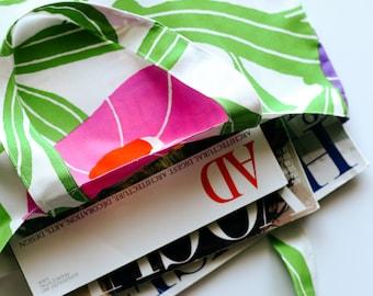Marimekko Tote Bag - Everyday Bag Tote - Grocery Bag - Cotton Market Tote Bag - Marimekko Fabric Tote - Library Tote Bag - Colorful Tote Bag