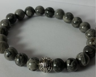 Scenery Jasper Bracelet            chose your size