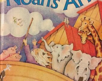Noah's Ark Vintage First Little Golden Book Children's Book   Reading for Children Bible Story
