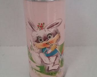 Pink Rabbit Thermos
