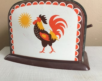 1950s Tin Childs Toy Toaster