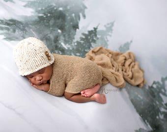 Newborn Hat Boy, Newborn Photo Prop Boy, Newborn Boy Hat Photo Prop, Newborn Boy Props, Newborn Beanie, Knit Newborn Hat, Newborn Hat Knit
