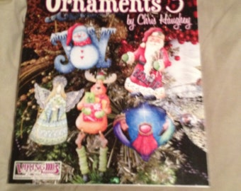 I love ornaments 3 by chris haughey painting instruction book