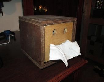 Smiley Face Tissue Box
