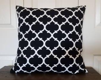 Modern Pillow Covers-Pillow cover-Throw pillow-Pillow covers-Throw pillow covers-Cushion cover-Sofa pillow-Accent pillow-Black pillow cover