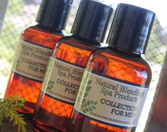 DAWN PATROL  Pre-Shave Oil New Product for Natural Blendings  Made to Order Custom Fragrance 2 Oz 4 Oz or 8 Oz Amber Bottles