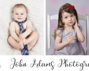 Facebook Cover complete with Photographer Logo Personalized with 4 of your photos |  Photography Logo