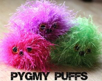 Pygmy Puffs based on the Harry Potter Series