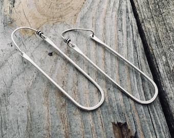 Gold Sterling Silver Earrings Handmade By Wild Prairie Silver Jewelry