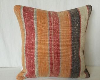 Kilim Pillow, Cushion Cover, Throw Pillow, Tribal Pillow, Turkish Kilim Pillow, Kilim Cushion, Türkish Kilim Pillow, Pillow Cover, Anatolian