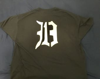 313D Large T-shirt front & back
