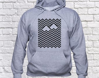 Black Lodge sweatshirt/ Twin Peaks hoodie/ Black lodge pullover/ David Lynch/ Twin Peaks Tv series/ sweater/ jumper/ Agent Cooper/ (B104)