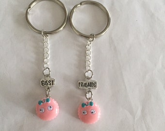 Best Friend Googly Eyed Keychains!