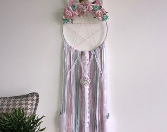 Unicorn fantasy dream catcher