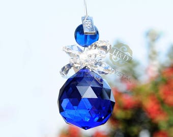Blue Angel SunCatcher solar backer Crystal