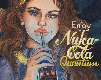 Nuka Cola Mini Kühlschrank : Fallout nuka cola poster collection bundle 3 für 2 gaming